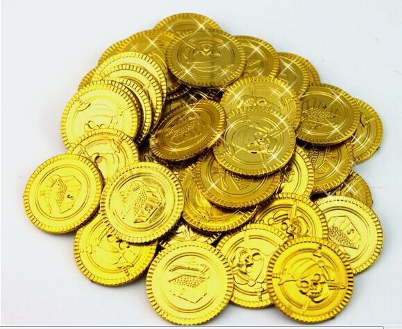 100PCS GOLD COINS Pirate Party Treasure Plastic Loot Bag Toys Fillers Childrens Fun Birthday Party Golden Pirate Pinata Bulk100PCS GOLD COINS Pirate Party Treasure Plastic Loot Bag Toys Fillers Childrens Fun Birthday Party Golden Pirate Pinata Bulk