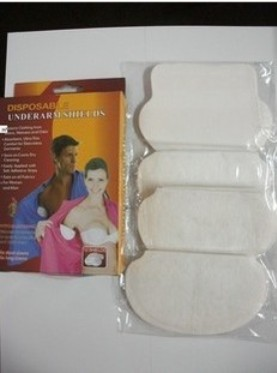 Box Pack Summer Personal Care Disposable Underarm Shields Self-adhesive Armpit Sweat Pad As Sweat Absorbent Patch AS SEEN ON TV