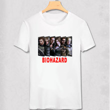 Resident Evil Biohazard Printed T-Shirt