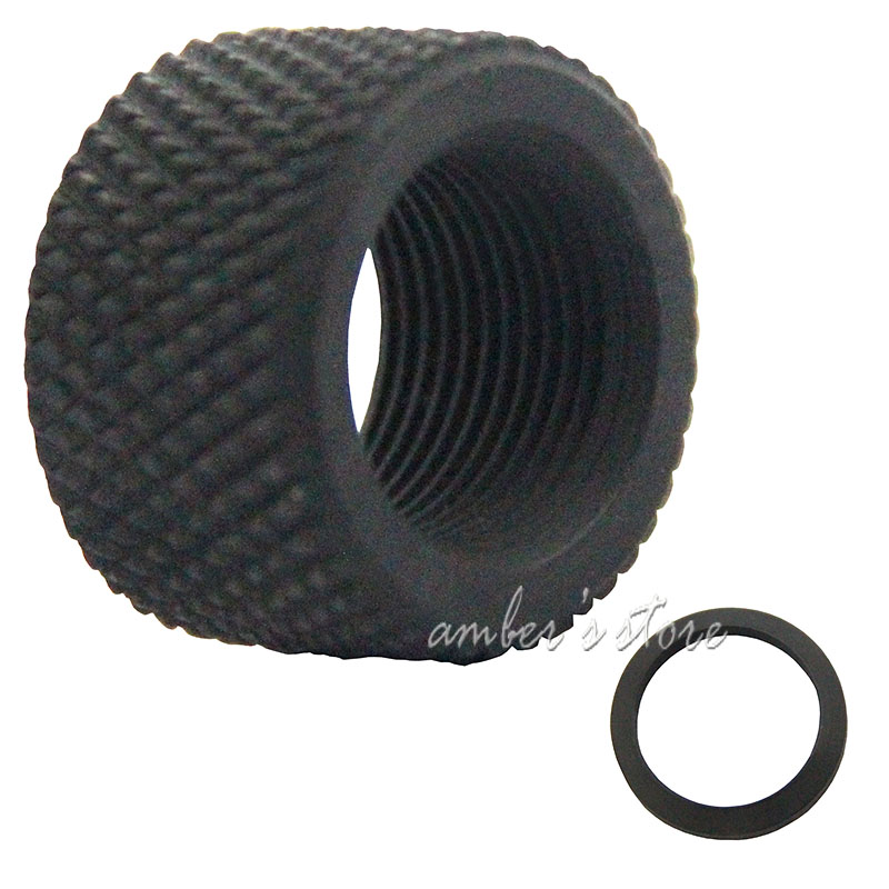 308 All Steel Thread Protector,5//8x24 Pitch Thread,.936 With Crush Washer