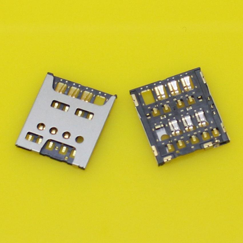 2pcs/lot new Micro sim card reader holder socket tray slot connector for sony.