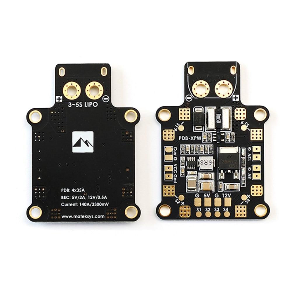 Matek PDB XPW 5V 12V Built In 140A Current Sensor XT60PW Socket