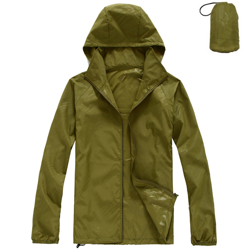 Jacket Rain-Coat Cycling Uv-Protect Packable Windproof Skin Fishing-Outing Travelling