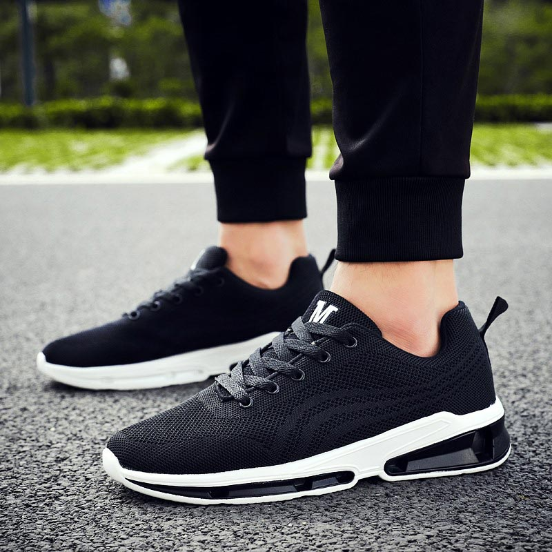 Breathable Zapatillas Hombre Deportiva Summer Mens Sneakers Men Running Shoes Sports Black Athletic Shoe Sport Tennis Gym B-203Breathable Zapatillas Hombre Deportiva Summer Mens Sneakers Men Running Shoes Sports Black Athletic Shoe Sport Tennis Gym B-203