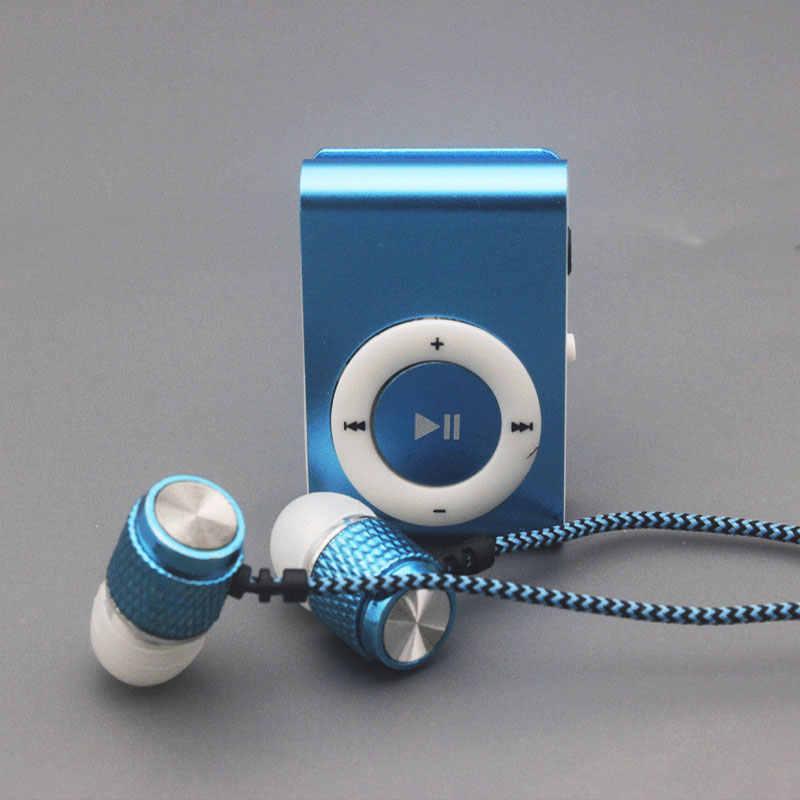 2018 новые наушники Mp3 музыкальный плеер Mp3 плеер Поддержка Micro TFCard слот USB MP3 S Порты и разъёмы плеер USB Порты и разъёмы с наушники для телефона