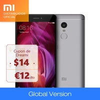 Xiaomi Redmi Note 4 Qualcomm 32GB ROM 3GB RAM (24 months Official Xiaomi Spain warranty) Global Version