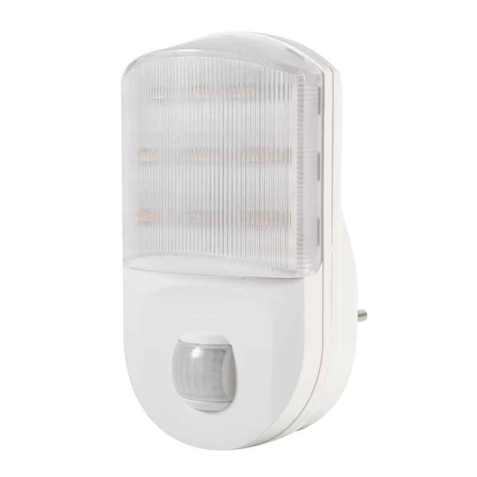 Беспроводной движения PIR Сенсор ночник тело индукции ночника luminaria Спальня прихожей светодио дный настенный светильник ночник ЕС Plug