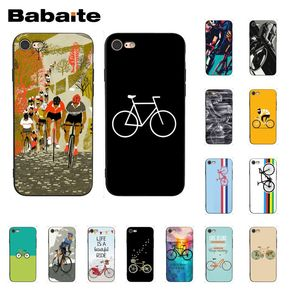 Babaite BIKE CYCLING art Phone Case for iphone 11 Pro 11Pro Max 6S 6plus 7 7plus 8 8Plus X Xs MAX 5 5S XR(China)