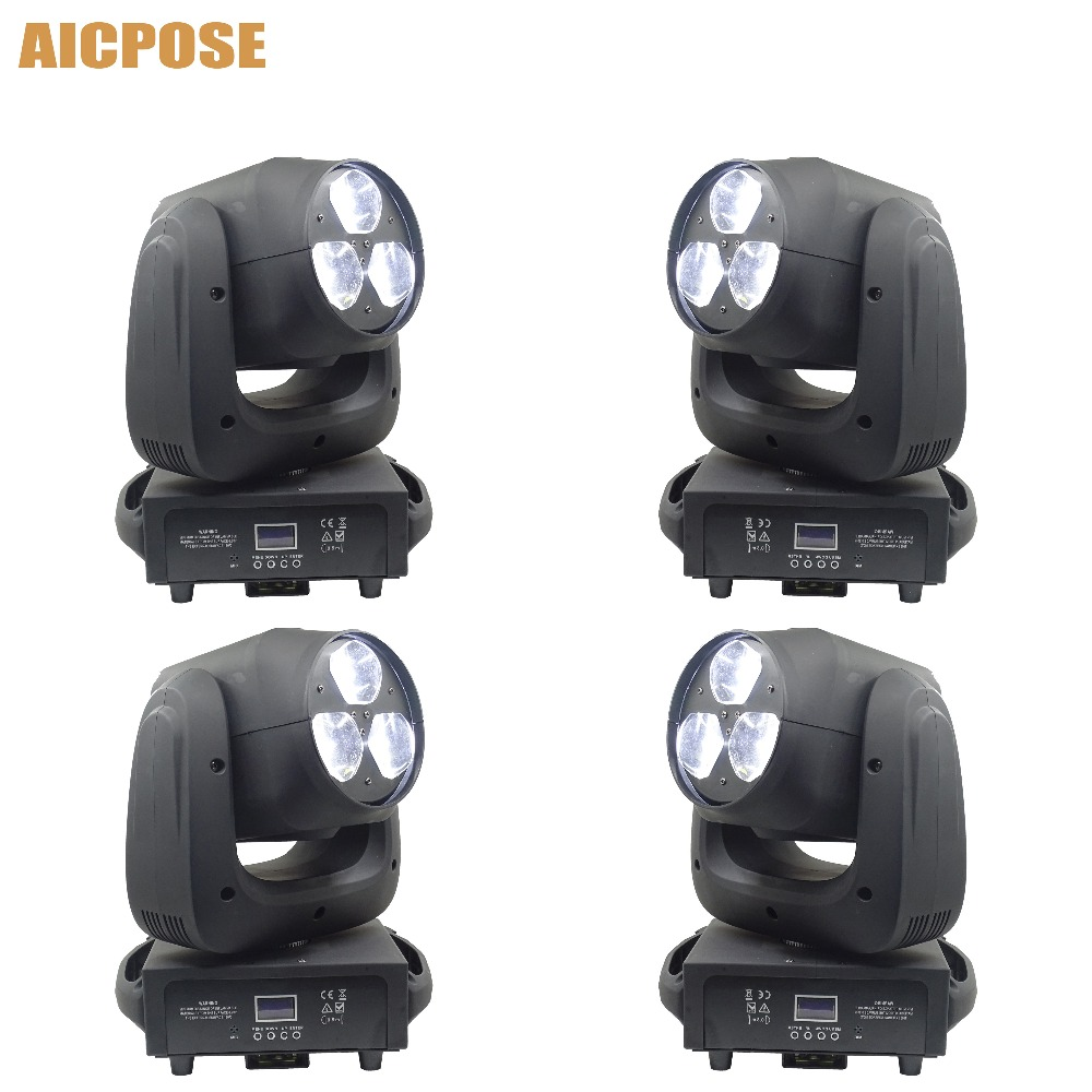 4pcs/lots Beam Light 3x40W RGBW 4IN1 LED Bee Eyes Moving Head With Zoom Stage Lights Disco Bar Light4pcs/lots Beam Light 3x40W RGBW 4IN1 LED Bee Eyes Moving Head With Zoom Stage Lights Disco Bar Light