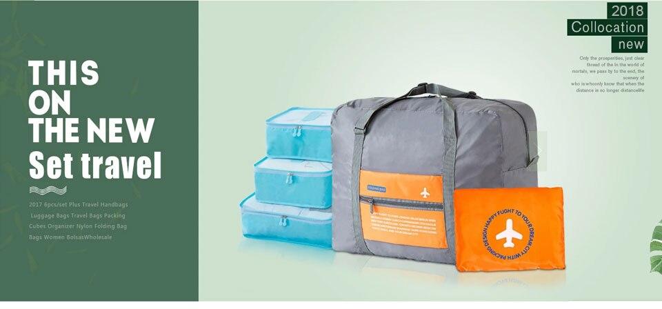 e30417851 2017 New Fashion Travel Pouch waterproof Unisex Travel Handbags Women  Luggage Travel Folding Bags Large Capacity Bag wholesale