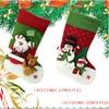 Snow Man 17 Felt Christmas Stocking New 2014 Design Party Decoration Favors