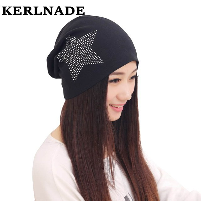0669f5a7726 girl beauty beanie designer customized novelty winter hats for women bling  crystal pattern casual skullies hat