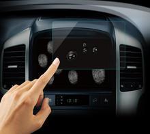 Автомобильное закаленное Стекло Экран защитный Плёнки Стикеры Радио DVD GPS стерео Мультимедиа для bmw для Audi для Volvo для VW для KIA RIO