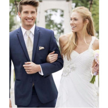 Hot Sale Groom suits Tuxedos handsome Men's Wedding Suits Custom Made groomsman suits Tuxedos (Jacket+Pants )