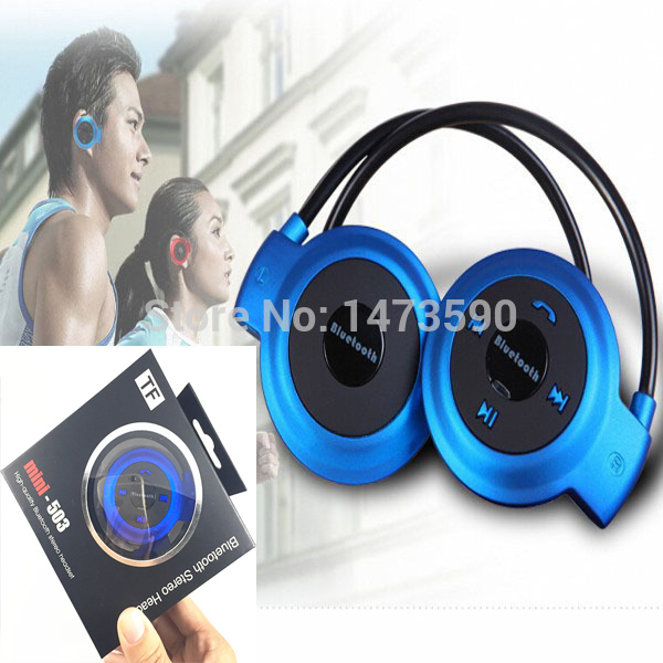 Universal Wireless Sports Headphones Stereo Bluetooth Earphone Support TF Card Headset With Mic For iPhone Samsung Phones W/ Box high quality 2016 universal wireless bluetooth headset handsfree earphone for iphone samsung jun22