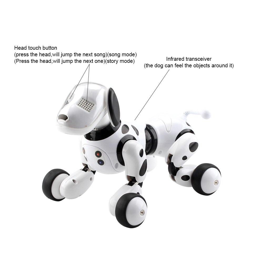 Intelligent RC Robot chien jouet Intelligent électronique animaux chien enfants jouet mignon animaux RC Intelligent Robot cadeau enfants anniversaire cadeau - 6