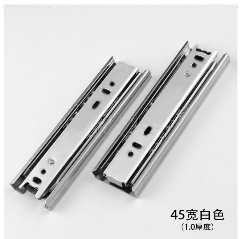 4 6 8 Mini Short Drawer Slides Furniture Guide Rail Small Track Wardrobe Kitchen Cupboard Drawer Slide Hardware Accessory 45mm спот globo enibas 54918 4
