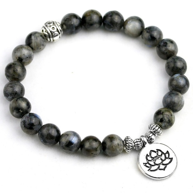 Bracelet Labradorite Homme