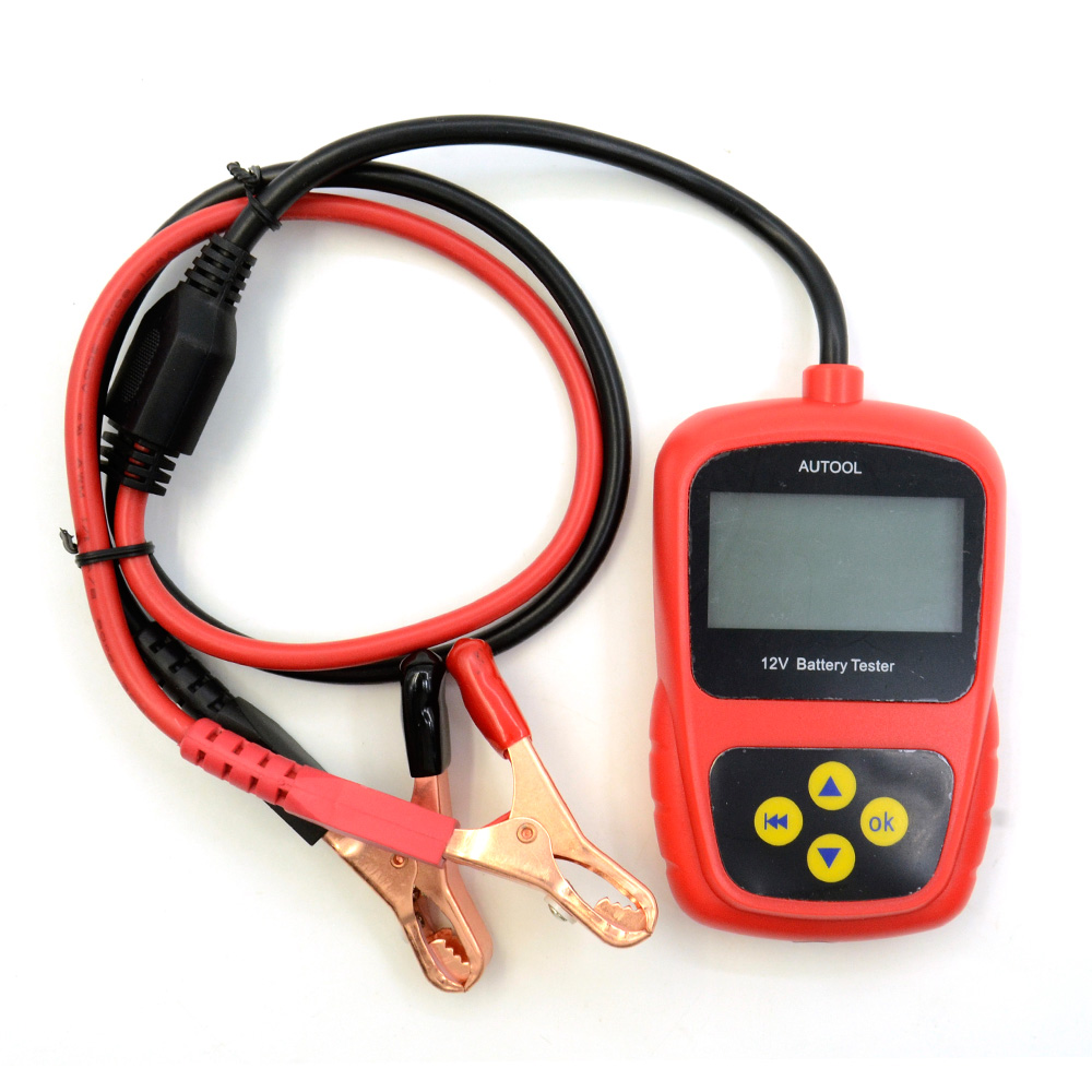 ФОТО AUTOOL BST 100 Car Battery BST-100 Professional Battery System Tester BST100 Support Multi-Language Free Shipping