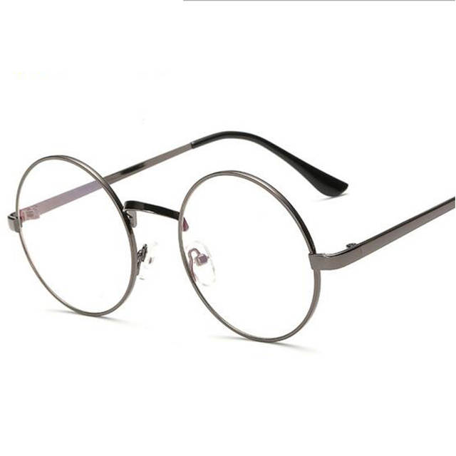 48f55a76f0bf Peekaboo Cheap small round nerd glasses clear lens unisex gold round metal frame  glasses frame optical