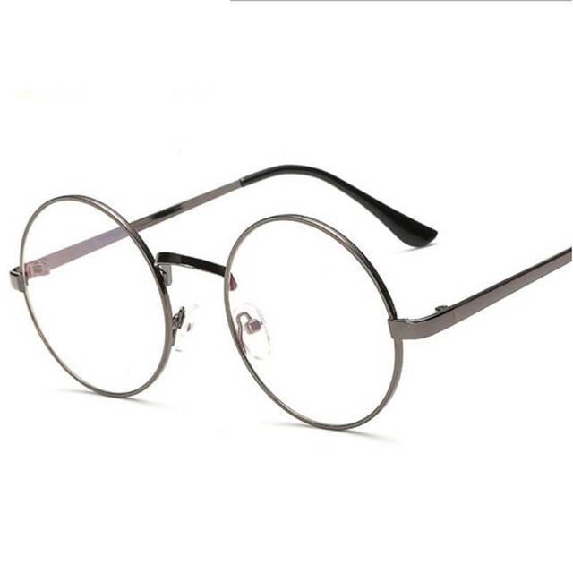 60b1feb8ef Peekaboo Cheap small round nerd glasses clear lens unisex gold round metal  frame glasses frame optical