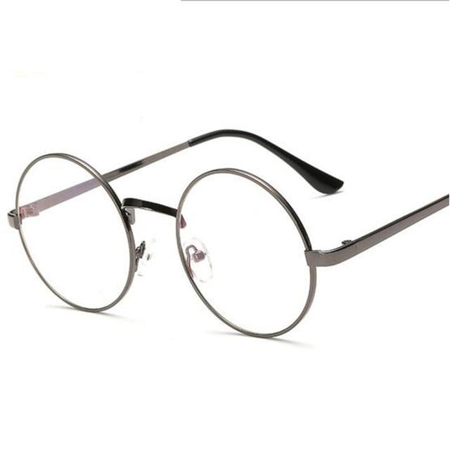 Online Shop Peekaboo Cheap small round nerd glasses clear lens ...