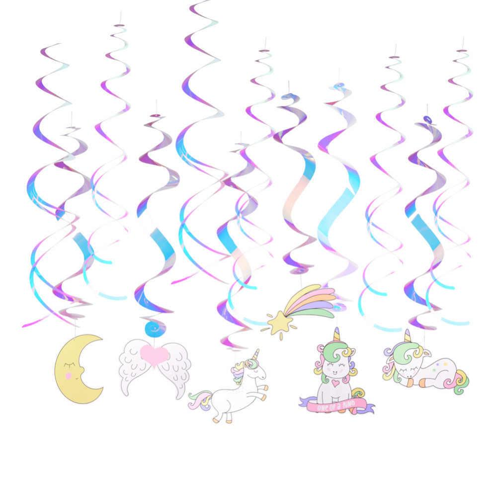 Detail Feedback Questions About 12pcs Set Unicorn Party Decorations