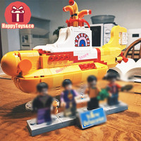 Legoing Technic Series 21306 553Pcs The beautiful submarine toys For Children Gift 21012 Building Blocks Set Compatible
