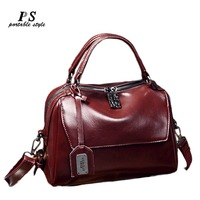 Luxury Real Cow Leather Ladies HandBags Women 100% Genuine Leather bags Totes Messenger Bags Hign Quality Designer Luxury Bags