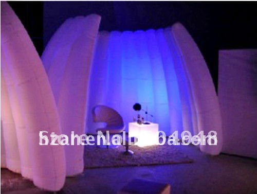 Photo booth LED inflatable studio office for party decoration photo