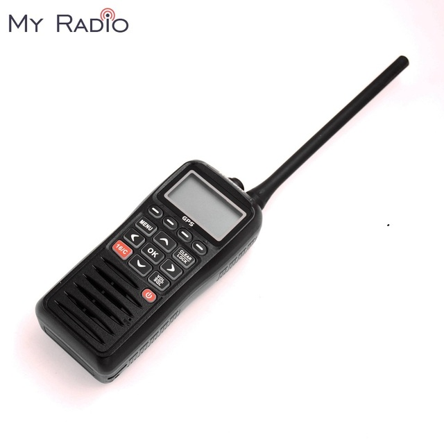 RECENT RS 38M GPS Marine Radio VHF Handheld Buoyant Floats Waterproof IPX7 ATIS code Tri watch 156.025 157.425MHz Transceiver