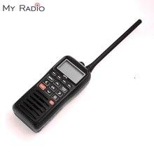 RECENTE RS 38M GPS Marine Radio VHF Handheld Drijfvermogen Drijft Waterdichte IPX7 ATIS code Tri horloge 156.025 157.425 MHz transceiver