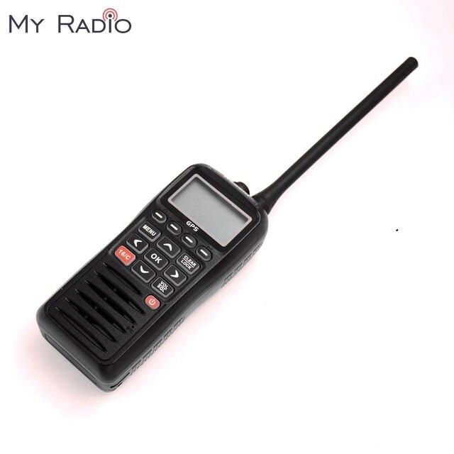 האחרון RS 38M GPS הימי רדיו VHF כף יד קליל צף עמיד למים IPX7 ATIS קוד תלת שעון 156.025 157.425 MHz משדר