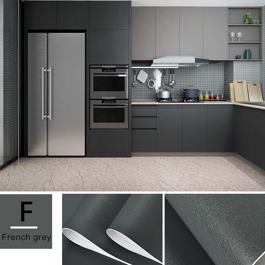 1 M/2 M Modern Living Room Furniture Desktop Impermeabile Marmo Carta Da Parati In Vinile Autoadesivo Carta di Contatto di Colore Solido complementi Arredo Casa