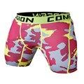 2016 Marca Nuevos hombres de Compresión Coolmax de Secado rápido de Los Hombres Elásticos Medias pantalones cortos de camuflaje Pantalones Cortos Envío Libre