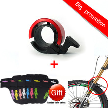 TWOOC Aluminum alloy Bicycle Bells Horn Bike Bells Handlebars Alarm Ring 22.2mm-22.4mm Cycling bell(China)