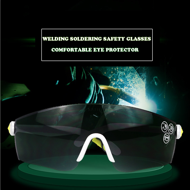 New Welding Safety Goggles For Welding Flaming Cutting Brazing Soldering Eye Protector Work Safety Glasses