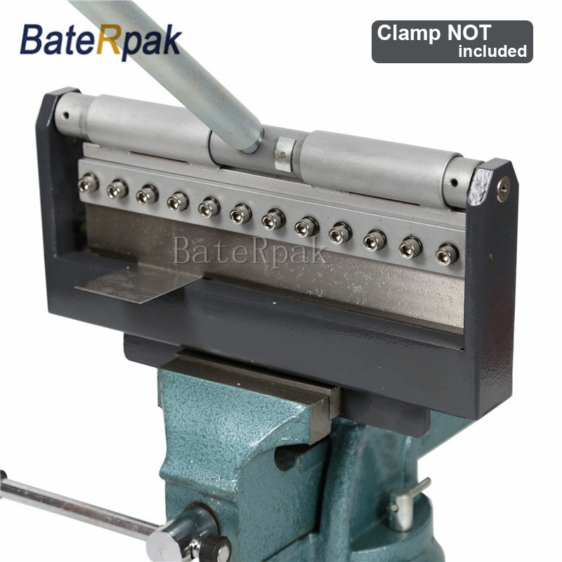 FP30 Manual Steel Plate Bending machine BateRpak steel galvanized aluminum sheet Bending Machine Export Germany Quality