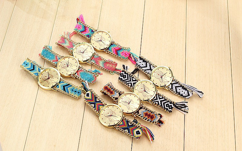 Dreamcatcher Friendship Bracelet & Watch