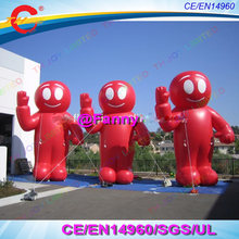 2019 Baru Kedatangan Raksasa Inflatable Robot Alien Model Iklan Kartun Inflatable Red Alien untuk Dekorasi Halloween(China)