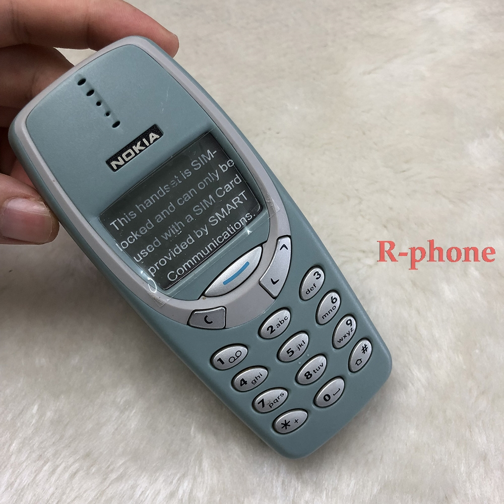 NOKIA 3310 2G GSM разблокированный мобильный телефон хороший дешевый отремонтированный мобильный телефон