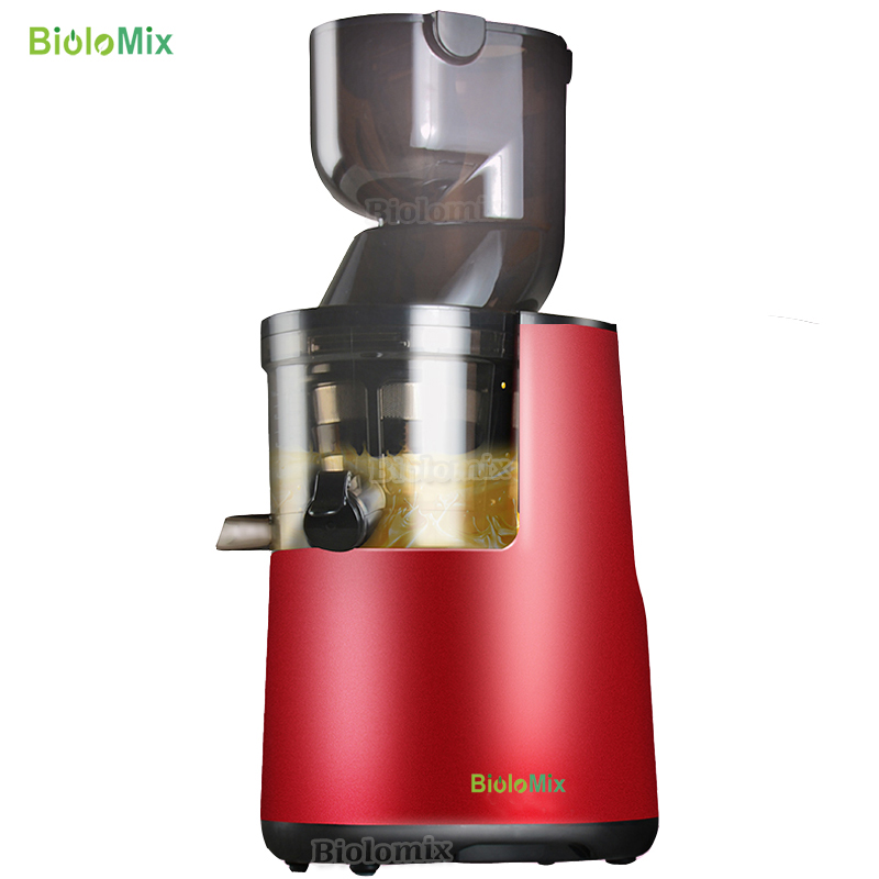 The Latest  Wide Big Mouth Feeder Whole Apple Slow Juicer Low Speed Fruit Vegetable Citrus Juice Extractor Sque
