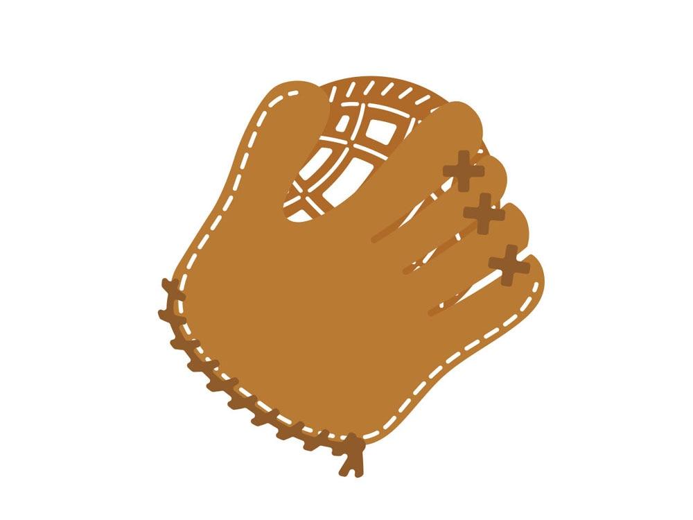 Alinacraft Metal Cutting Dies Baseball Glove Scrapbooking Paper