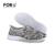 FORUDESIGNS Mulheres Casuais Sapatos de Plataforma, Senhoras Verão Flats Sapatos de Malha Leve, Mulher Respirável Sapatos Feminino 2017 Mocassins