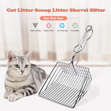 Cat Litter Scoop Shovel Sifter Pet Poop Cleaning Supplies Tools
