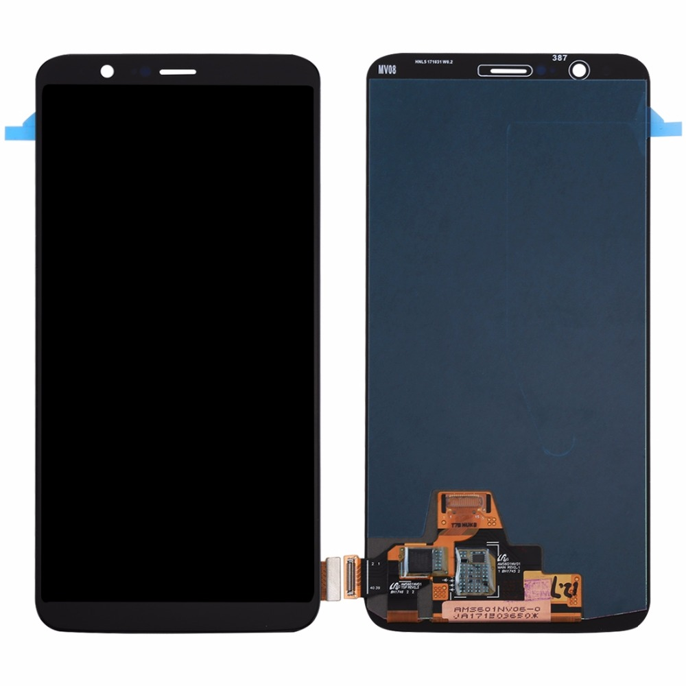 Replacement Screen for OnePlus 5T LCD Screen and Digitizer Full Assembly for OnePlus 5TReplacement Screen for OnePlus 5T LCD Screen and Digitizer Full Assembly for OnePlus 5T