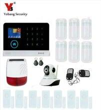 YobangSecurity WiFi GSM GPRS RFID Wireless Home Business Office Burglar Security Alarm System Solar Power Siren Video IP Camera
