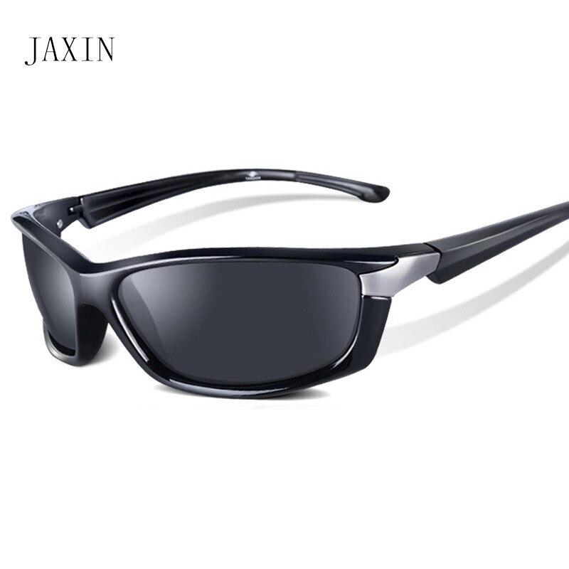JAXIN Fashion sunglasses men polarized coated anti reflective driving glasses brand design retro glasses UV400 oculos masculino in Men 39 s Sunglasses from Apparel Accessories