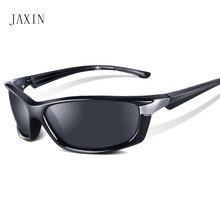 JAXIN Fashion sunglasses men polarized coated anti-reflective driving glasses brand design retro glasses UV400 oculos masculino