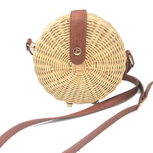 Square Round Mulit Style Straw Bag Handbags Women